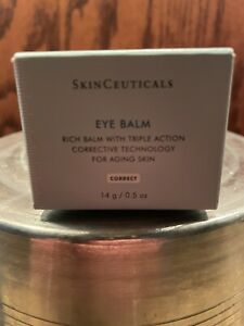 SKINCEUTICALS RICH EYE BALM TRIPLE ACTION FULL SIZE .5 OZ SEALED FRESH AUTHENTIC