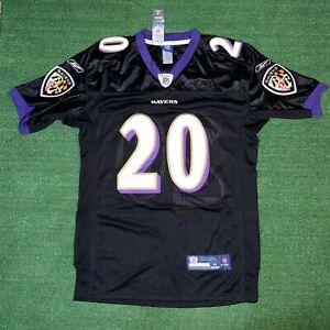 NWT Reebok NFL Baltimore Ravens #20 Ed Reed On Field Football Jersey - 48