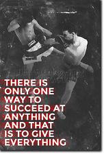 MUAY THAI MOTIVATIONAL PHOTO PRINT 10 MOTIVATION QUOTE POSTER MMA MARTIAL ARTS