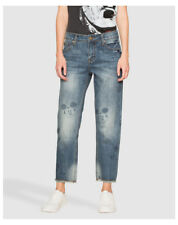 Jeans da donna in denim boyfriend Taglia 34