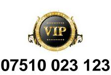 GOLD Easy Memorable UK Business Mobile Phone Number PLATINUM Sim Card 100 23 123