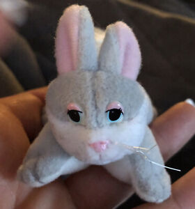 Pound Puppies Bunnies Plush Rabbit by Lewis Galoob 1997 small Toy Bunny🐰🥚
