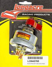 Longacre Racing 45760 Battery Disconnect Kill Switch 2 Terminal (Replaced 45761)