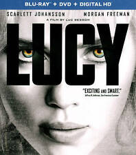 Lucy (Blu-ray/DVD, 2015, 2-Disc Set, Includes Digital Copy) BRAND NEW
