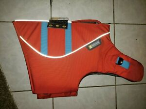 Ruffwear Float Coat Dog Life Jacket Large L Sockeye Red New With Tags 32-36 in