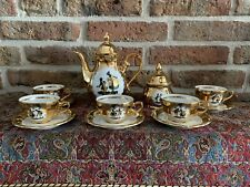 Vintage Gold Plated Bavaria Coffee Service