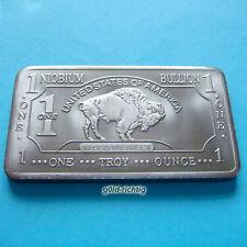 1 oz Niobbarren Büffel (American Buffalo 999 Niob Barren Niobium Unze Unzen) NEU