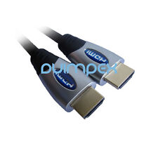 J01 HDMI Cable Adaptador 1.3b HD PREMIUM Ethernet 28awg TV MONITOR PROYECTOR PC
