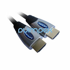 J01 Câble HDMI Adaptateur 1.3b HD PREMIUM Ethernet 28AWG TV écran Beamer PC