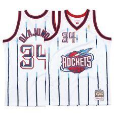best service e4b6c 9f14f Hakeem Olajuwon White NBA Jerseys for sale | eBay