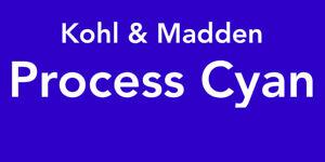 Kohl & Madden Printing Ink Process Cyan 9.0 oz. can