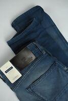 UVP 147 Scotch & Soda Ralston Herren W31/L34 Schlanke Passform Blau Jeans