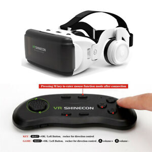 Original Realidad VR 3D Stereo Glasses Box VR Helmet For IOS Android Smartphone
