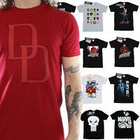 Marvel T-Shirt Mens Official Merchandise