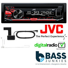 JVC KD-DB67 Car Stereo DAB Radio CD MP3 USB AUX In iPhone Player & Aerial Inc..