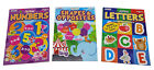 My First Numbers, Letters and Shapes Kids Coloring Book Activity Books Set of 3