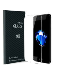 For iPhone 7 8 Plus + 3D Full Edge to Edge Clear Tempered Glass Screen Protector