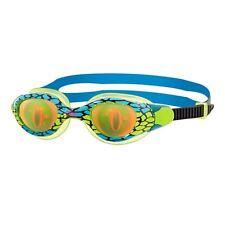 Zoggs Sea Demon Hologram Junior Swimming Goggles - Blue / Pink
