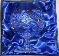 24% Lead Crystal Brandy Glass in Silk Lined Presentation Box
