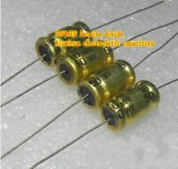 50V16UF Gold aluminum electrolytic capacitor Audio crossover capacitors Promise