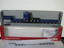 Herpa 1:87 MB SK 94SZ Schwertransport Goldhofer (CA/368-25R5/1)