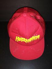 RARE Vintage HULK HOGAN Hulkmania Baseball vented Cap Hat Condition Wrestling