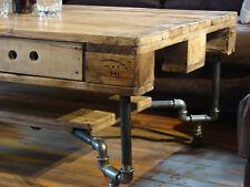Couchtisch Tisch Palettenmöbel  Loft Massivholz Vintage 1