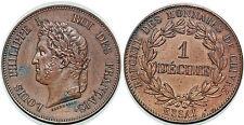 LOUIS PHILIPPE  DECIME 1840 ESSAI REFONTE DES MONNAIE DE CUIVRE PAR BARRE