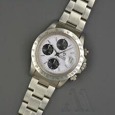 Tudor Oysterdate Cronografo 79180 unpolished porcelain Dial automatico Big Block