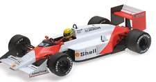 A. Senna Mc Laren Honda MP473B Formula 1 test car 1987 Minichamps 547871899