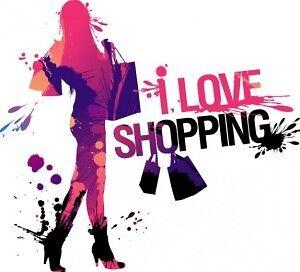 I love shopping...