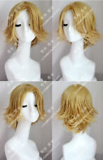 My Boku no Hero Academia Yuga Aoyama Short Blonde Mixed Cosplay Wig  FF.108