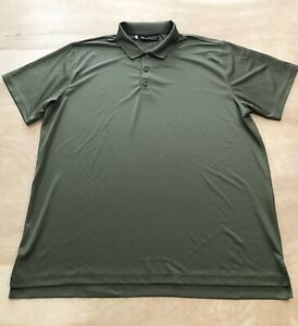 Under Armour Polo short sleeve heat gear Green Men's Size 3XL