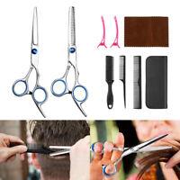 Professional Salon Hair Cutting+Thinning Scissors Kit Barber Shears Hairdressing