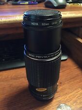 ASAHI Opt. Co., JAPAN SMC PENTAX -M Zoom 1:4.5  80-200mm, HOYA 52mmUV(10) filter