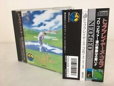 SNK Neo Geo CD TOP PLAYER'S GOLF Players w/spine Japan JP GAME z2186