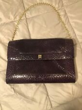 Kate Spade Purple Patent Leather Bag