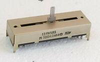 Potentiomètre rectiligne 4 pistes. Ampli Continental Edison PA 9509,TETRA HIFI.