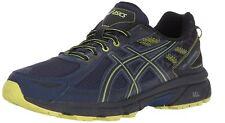 ASICS Men's Gel-Venture 6 Running-Shoes Indigo Blue/Black/Energy Green 13 4E US
