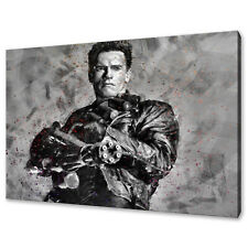 More details for arnold the terminator canvas print picture wall art fast free uk delivery