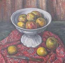 Bulthuis Piet 1898-1988 Gouda Middelburg STILLEBEN Zitronen SCHALE Still LIFE !!