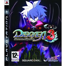 Disgaea 3: Absence of Justice (PS3) Sony PlayStation 3 PS3 Brand New