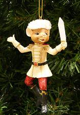 KURT S. ADLER DELUXE RESIN NUTCRACKER MOUSE KING CHRISTMAS ORNAMENT
