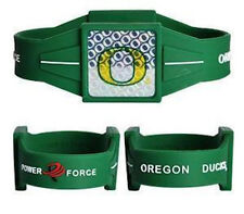 "NEW! Oregon Ducks Ionic Bracelet Balance 8"" Power Force Hologram Dual Sport"