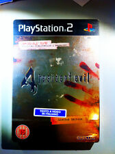 Resident Evil 4 ps2 Ita LIMITED EDITION SEALED RARE SIGILLATO COVER LAMINATA