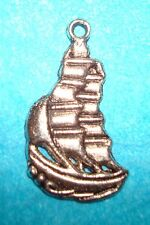 Sailboat Charm Lot of 2 Pirate Charm Sailing Vacation Riviera Charm Swashbuckler