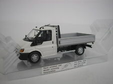 FORD TRANSIT PICK-UP SINGLE CABINE 2000 WHITE 1/43 MINICHAMPS NEW