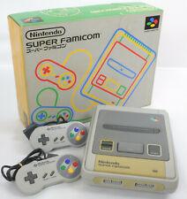 Super Famicom Console System Boxed FREE SHIP No AC Adaptor Cable 263385 Nintendo