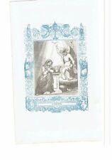 1852 Grabado, La Anunciacion