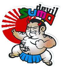 A60 sticker autocollant adhésif - Devil SUMO -  déco tuning 10,5x11 cm